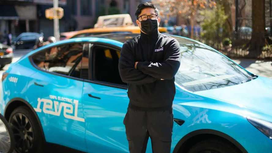 Revel Tesla Model Y Taxi