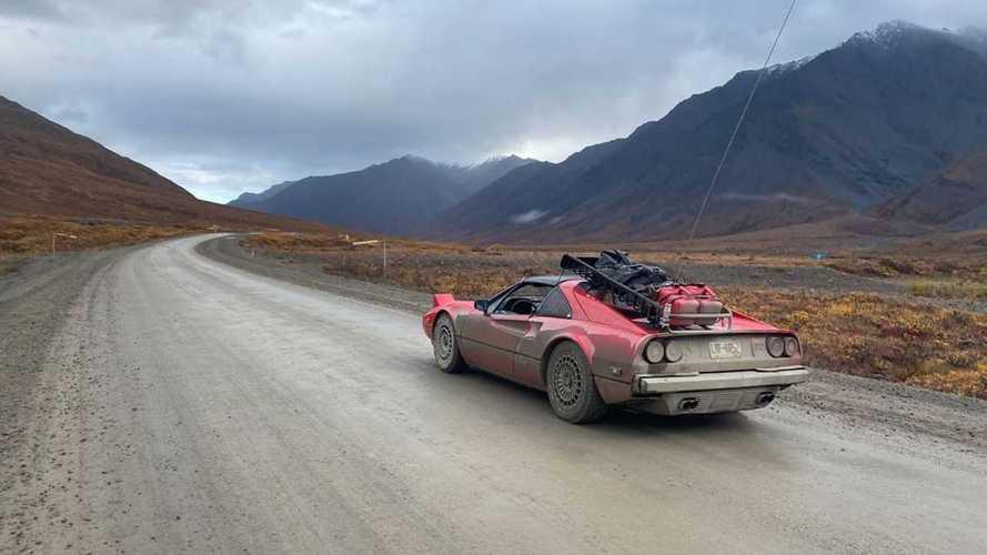 Ferrari 308 Jadul Ini Dipaksa Berkelana ke Alaska tapi Bertahan