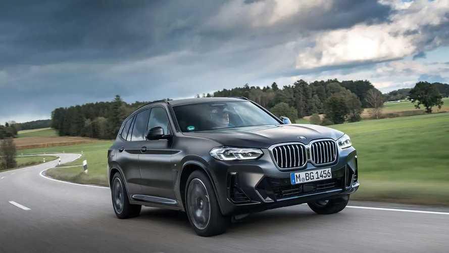 BMW X3 Facelift (2021) im Test