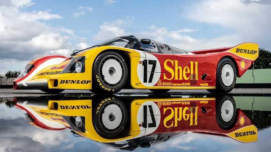 Porsche 962 C Race Car Restored To Original 1987 Condition