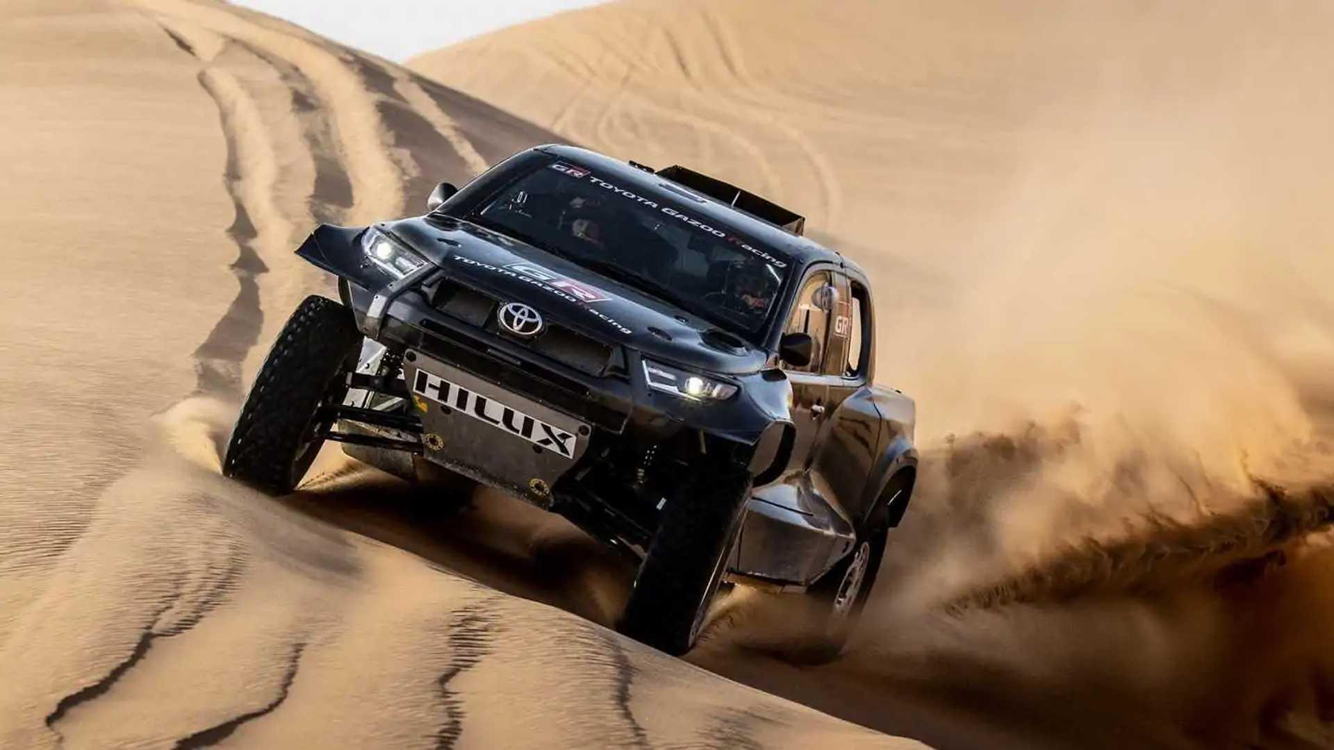 Toyota GR DKR Hilux T1+ for Dakar 2022 Dirt