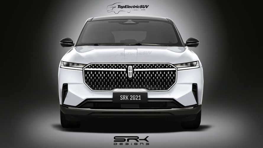 """Lincoln """"Mark E"""" Electric SUV Will Probably Look A Lot Like This"""
