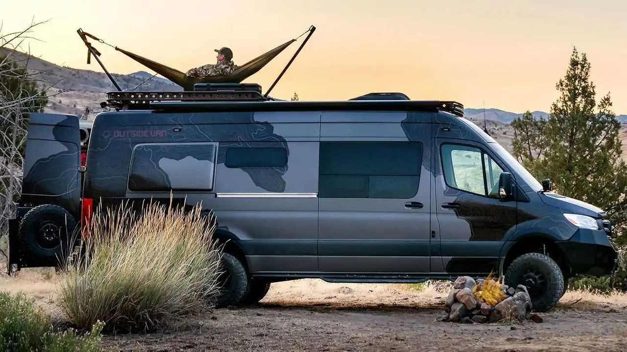The Launch Pad custom camper van from Outside Van.
