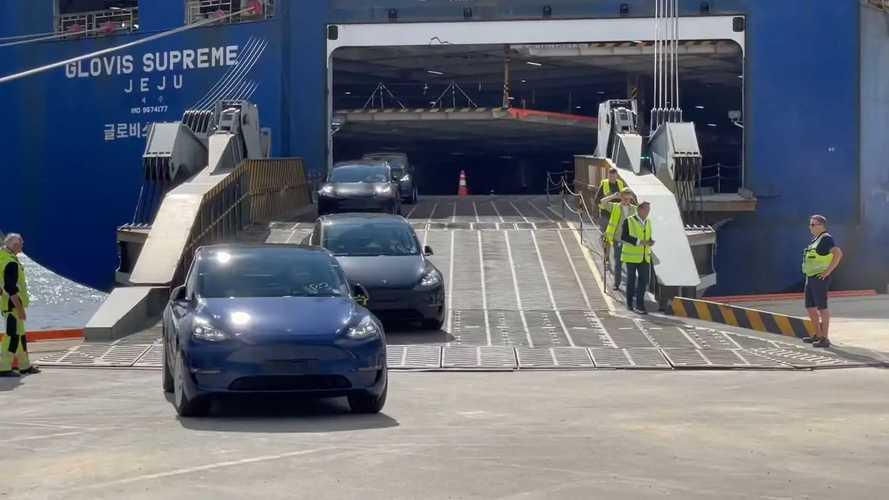 MIC Tesla Model Y arrives in Norway in high numbers