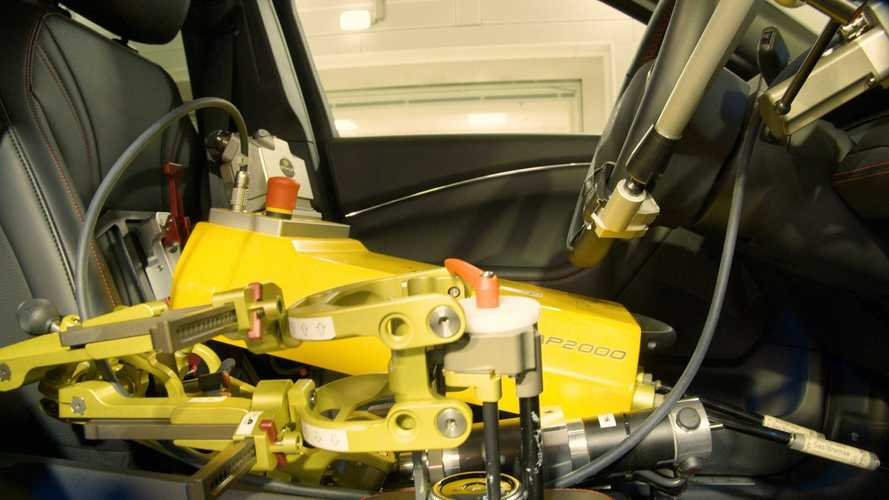 Ford Robots Testing Mustang Mach-E