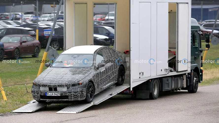 BMW i5 Spy Shots