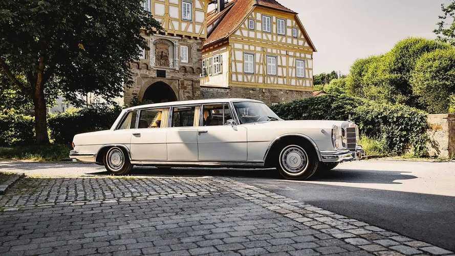 Mercedes-Benz 600 Pullman 'Maybach', una joya 100% restaurada