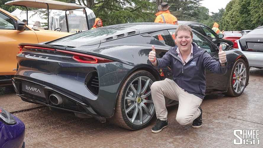 Jenson Button drives Lotus Emira at Goodwood FoS, Shmee is buying one