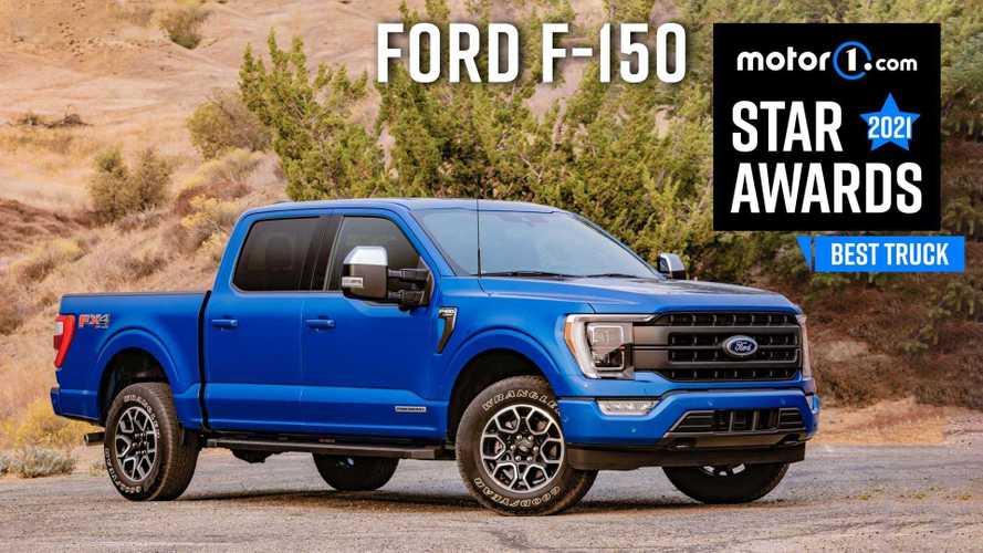 2021 Ford F-150 Wins Motor1 Star Award For Best Truck