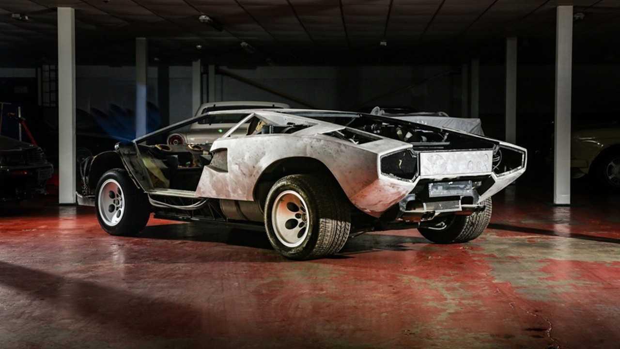 Lamborghini Countach 5000 S (1982) als Auktionsobjekt