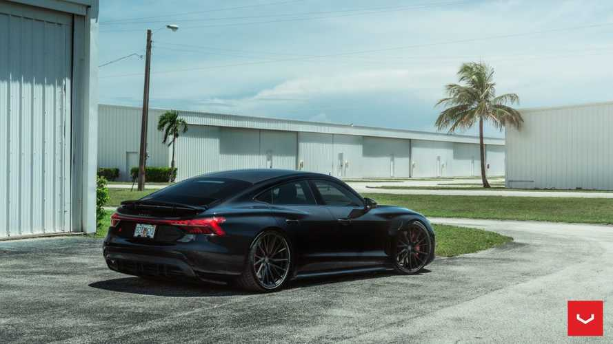 Does The Audi RS E-Tron GT Look Better On These Vossen Wheels?