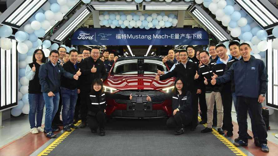 Ford Mustang Mach-E Enters Production In China