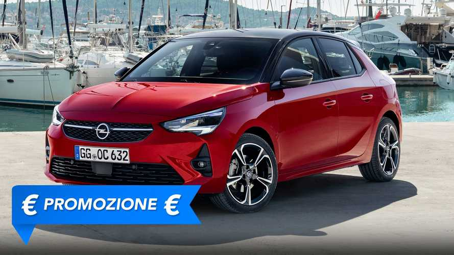 Promozione Opel Corsa benzina, perché conviene e perché no