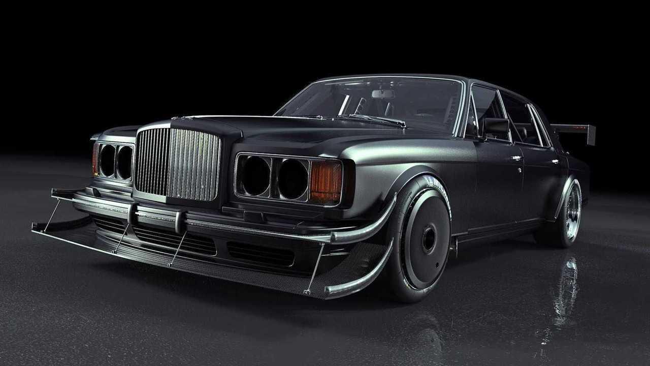 Bentley Turbo R for Pikes Peak