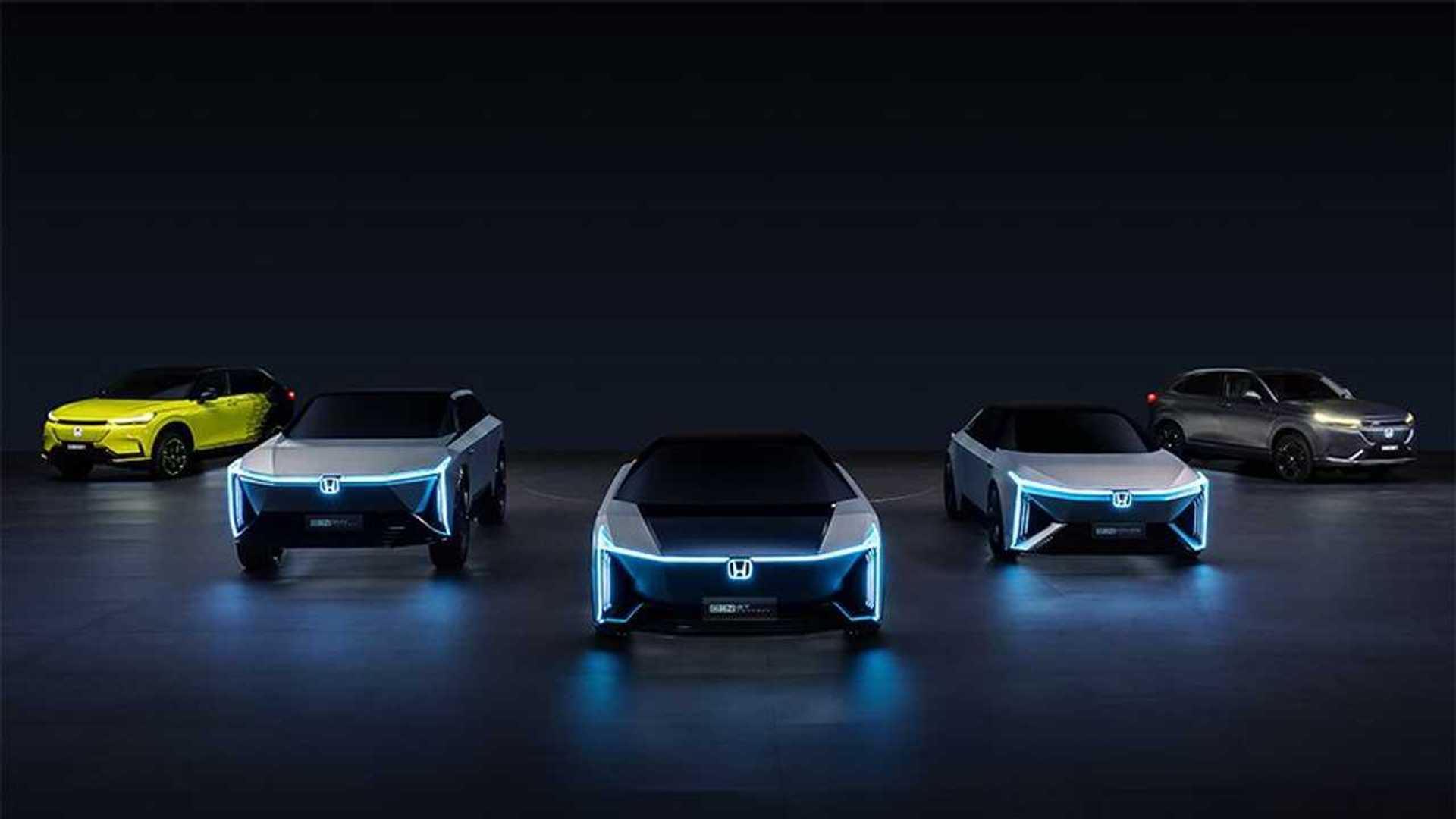 Honda e:N Series EV Concepts Group