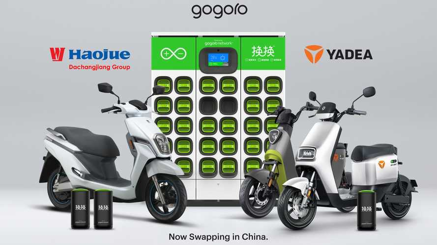 Gogoro Rolls Out Battery Swapping Network In First City In China