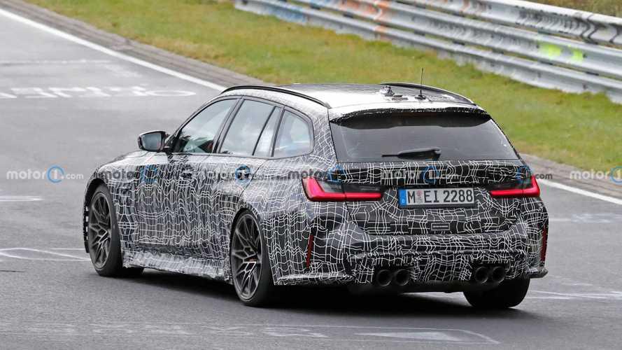 BMW M3 Touring 2022, fotos espía en Nürburgring