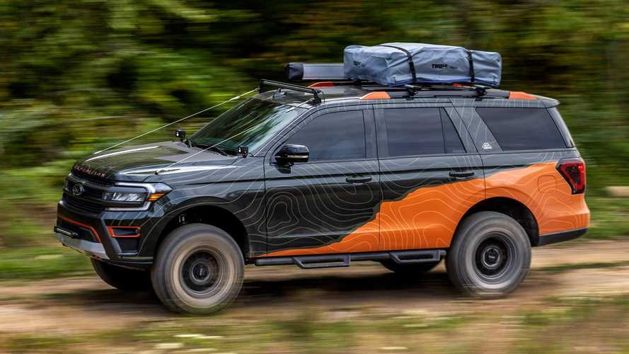 Ford Expedition Timberline Off-Grid Concept: Reise-Riese