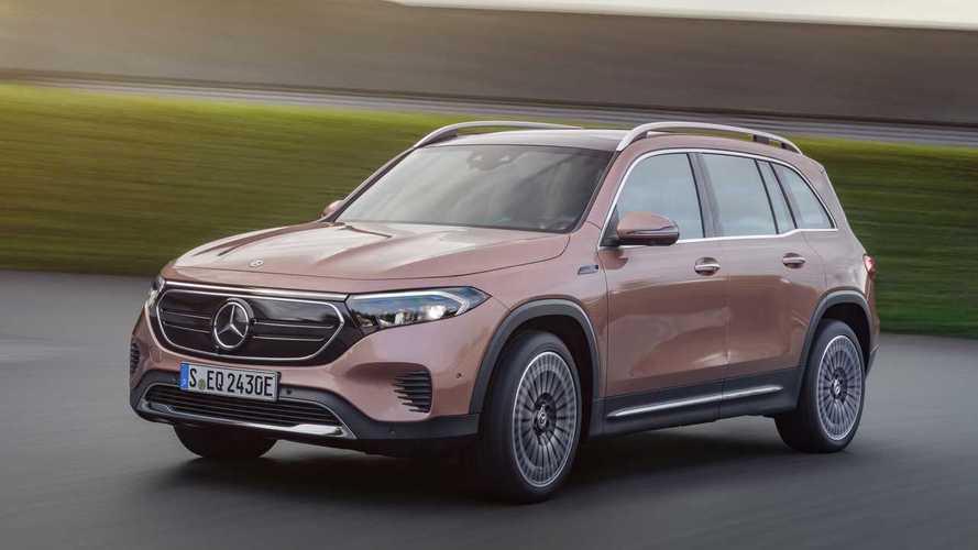 Mercedes-Benz EQB Three-Row Electric Crossover Bows At IAA 2021