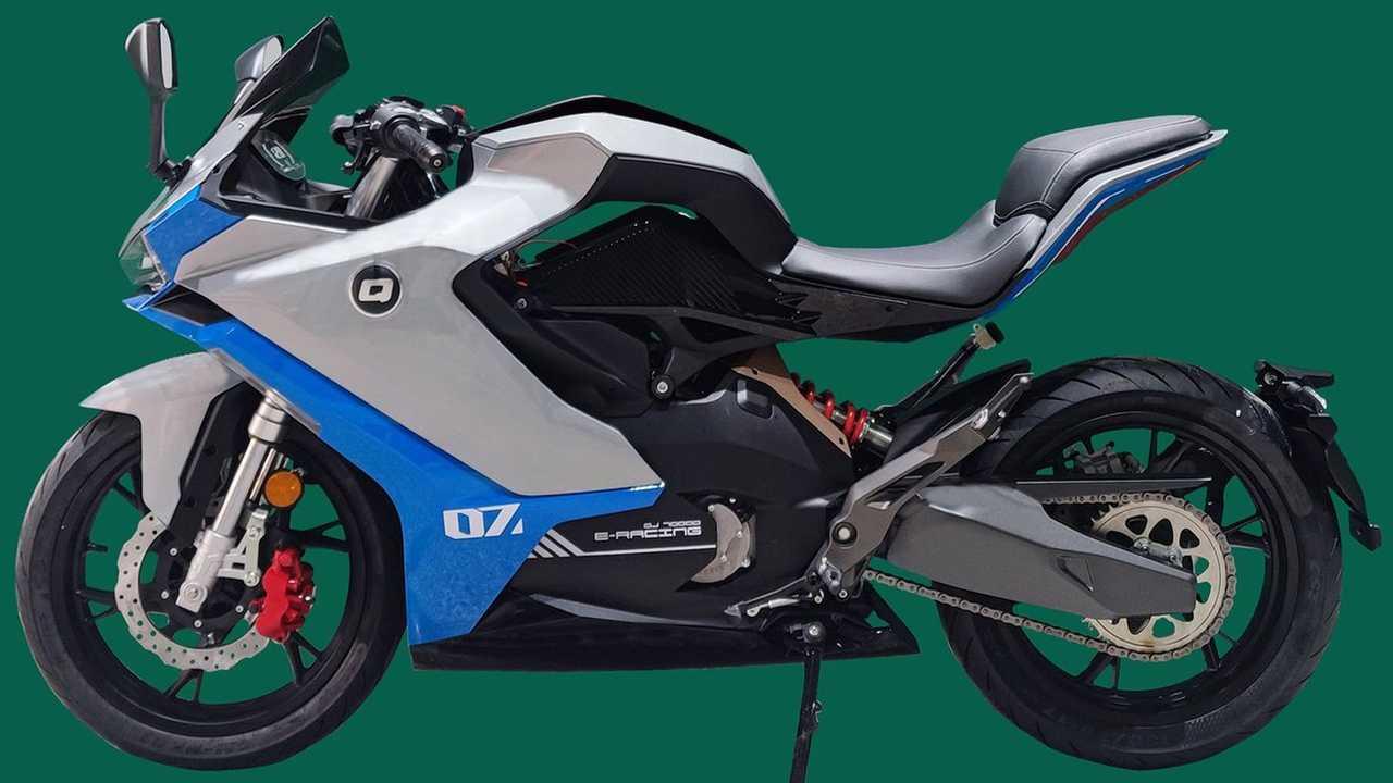 Benelli QJ700D Electric bike patent images