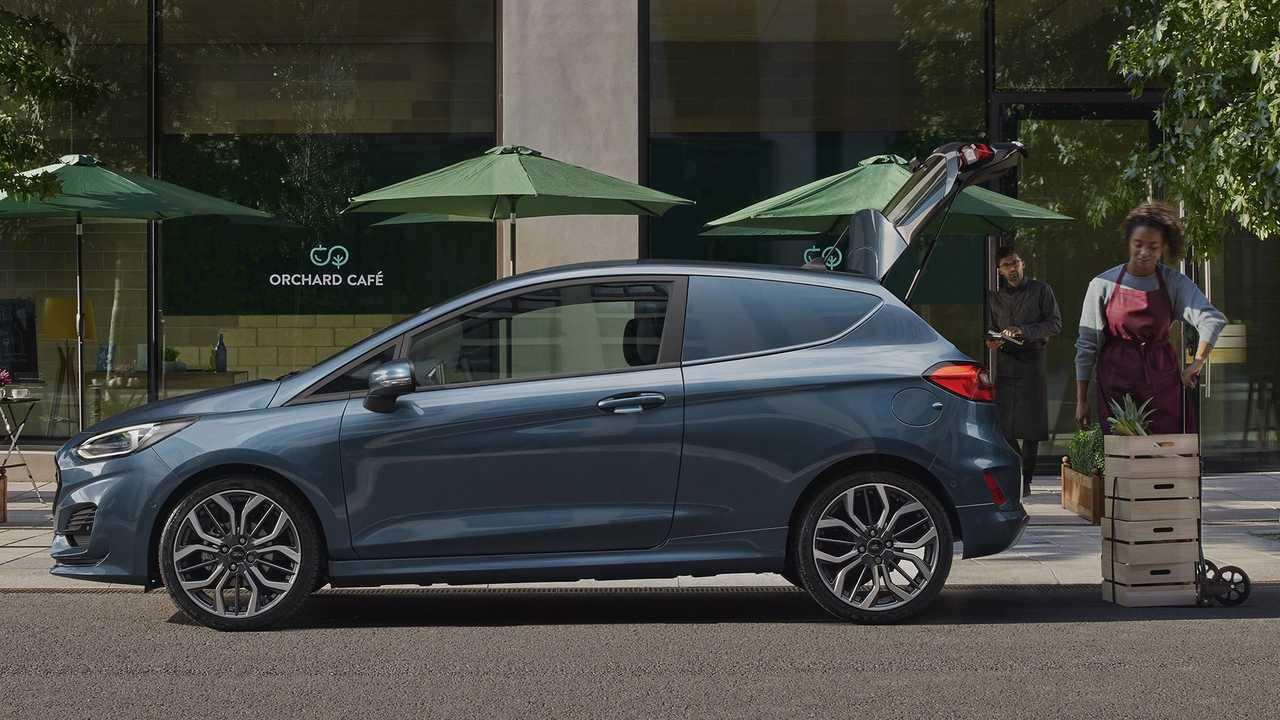 Ford Fiesta Van Facelift 2022