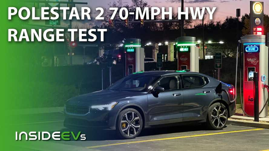 Polestar 2 With Performance Pack 70-MPH Highway Range Test
