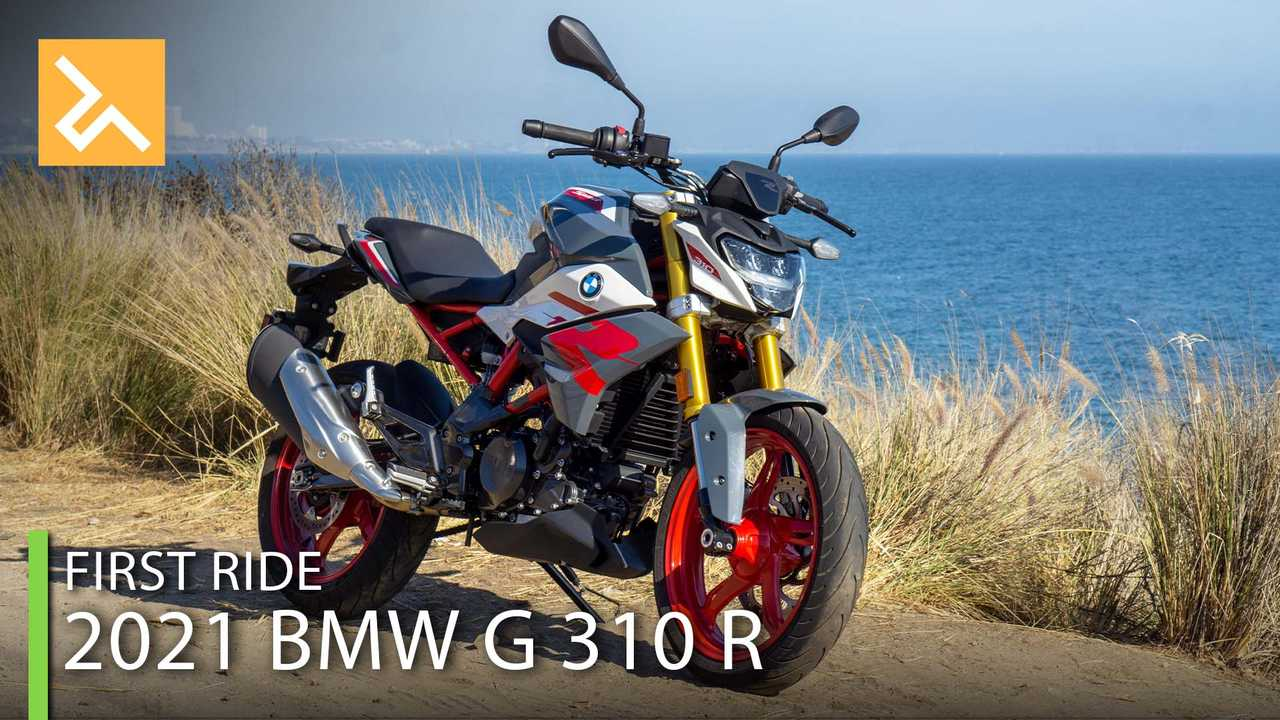 2021 BMW G 310 R - Cover
