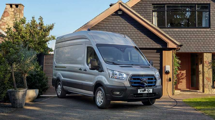 Ford E-Transit Priced From £42,000 In The UK, More Info Released
