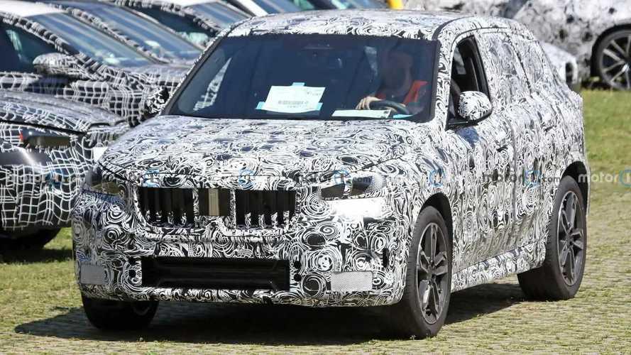 2021 BMW X1 Yeni Casus Fotoğraflar