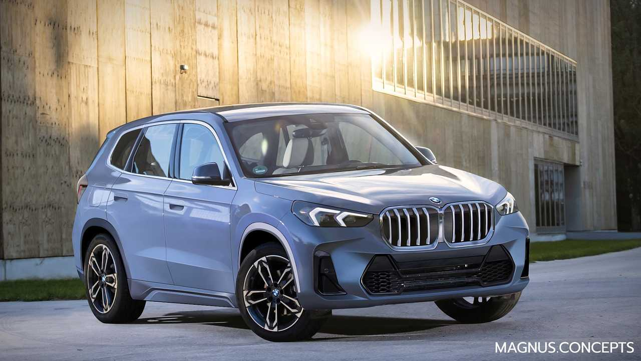 This is what the new BMW X1 could look like