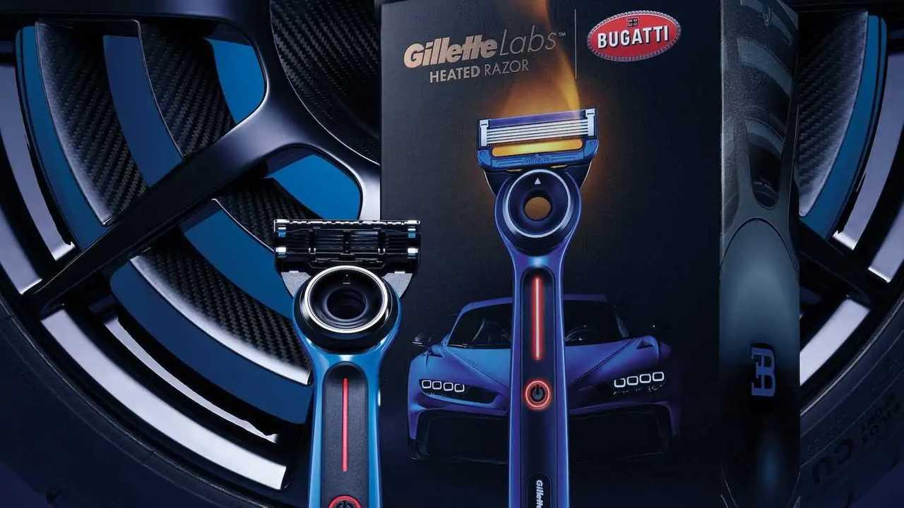 GilletteLabs x Bugatti Special Edition Heated Razor