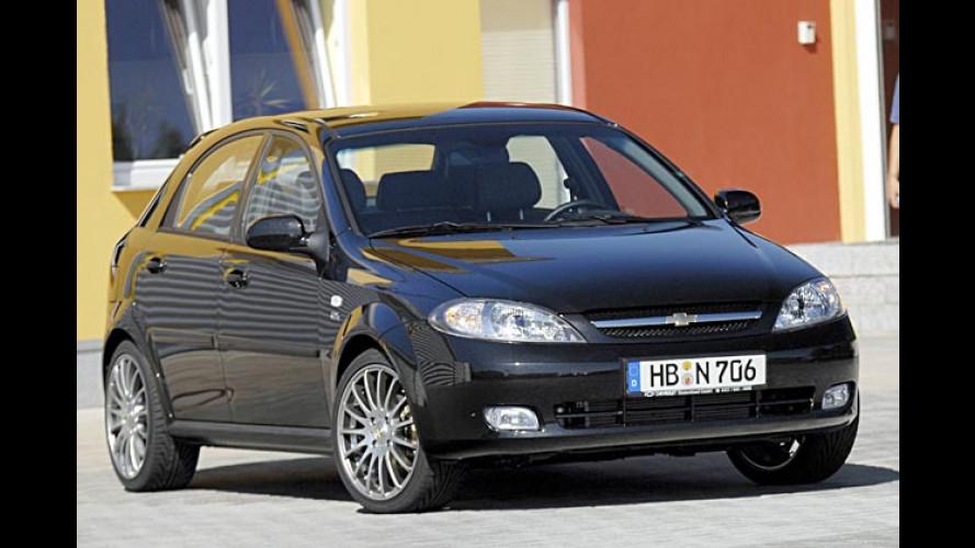 Neuer Kompakter: Chevrolet bringt Lacetti als Black Edition
