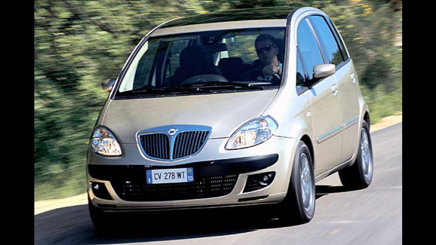 Lancia Musa jetzt mit Dieselpartikelfilter erhältlich