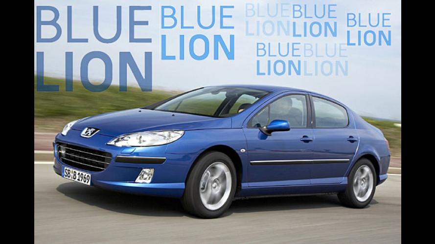 Blue Lion: Peugeot kennzeichnet umweltfreundliche Autos