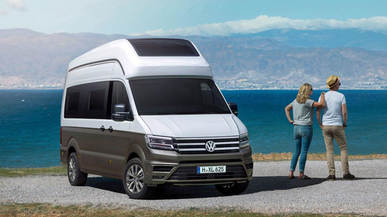 VW California Xxl >> Vw Teases Production Ready California Xxl Camper Van