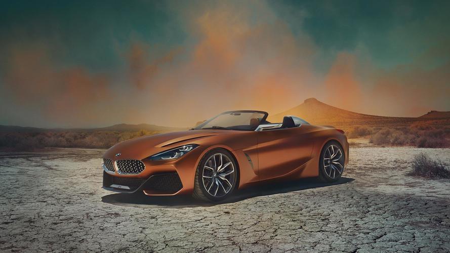 BMW Z4 Concept 2018, primeras fotos y datos oficiales