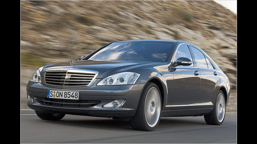 Mercedes S-Klasse ab sofort mit 4Matic-Allradantrieb lieferbar