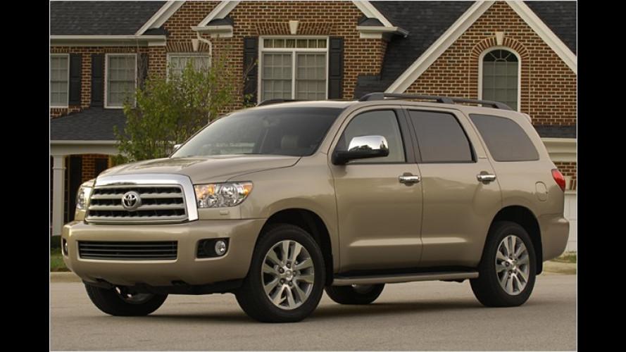 Nur für die USA: Neues Toyota-SUV Sequoia vorgestellt