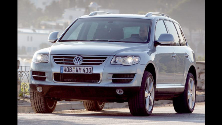 Volkswagen Touareg mit verbessertem V6-TDI-Motor