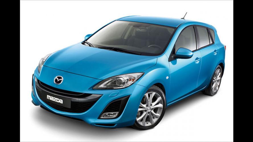 USA-Premiere: Mazda 3 als fünftüriges Schrägheck