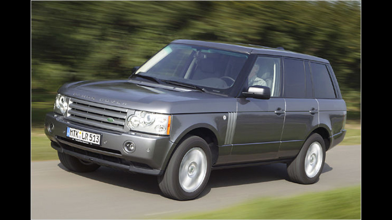Land Rover Range Rover TDV8 Autobiography DPF