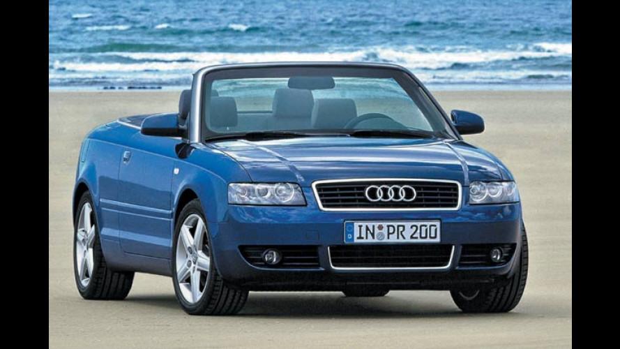 Audi A4 Cabriolet 2.0: Neues Einstiegsmodell