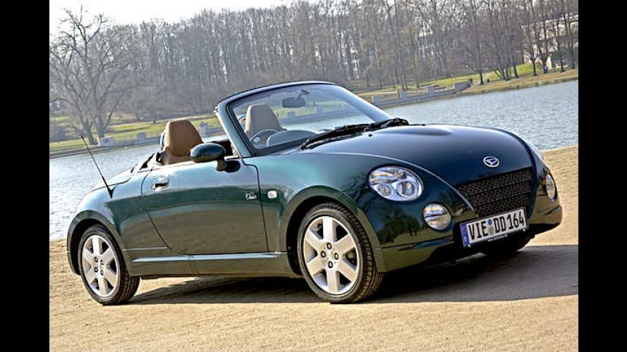 Daihatsu Copen: Zwei Sondermodelle des Mikro-Roadsters
