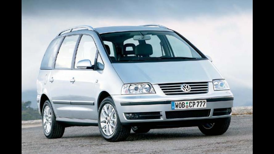 VW gibt Gas: Sharan jetzt auch mit Autogas-Antrieb erhältlich