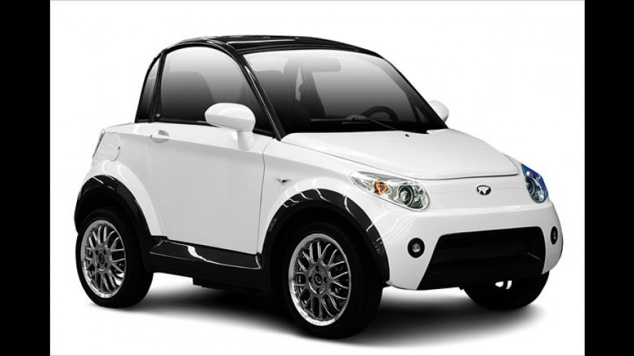 Nice Mycar: Schickes Elektroauto für zwei Personen