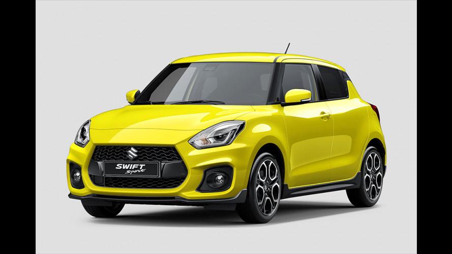 Suzuki Swift Sport: Fortan mit Turbolader?