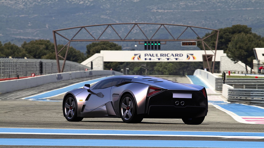 Marussia B3 Rendering Keeps Russia's Supercar Dream Alive