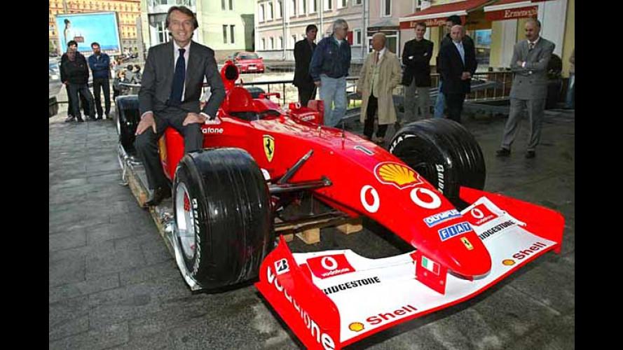 Neu in Moskau: Ferrari- und Maserati-Showroom eröffnet