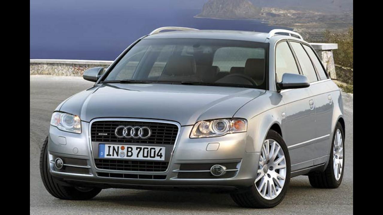 Neue Audi A4-Reihe