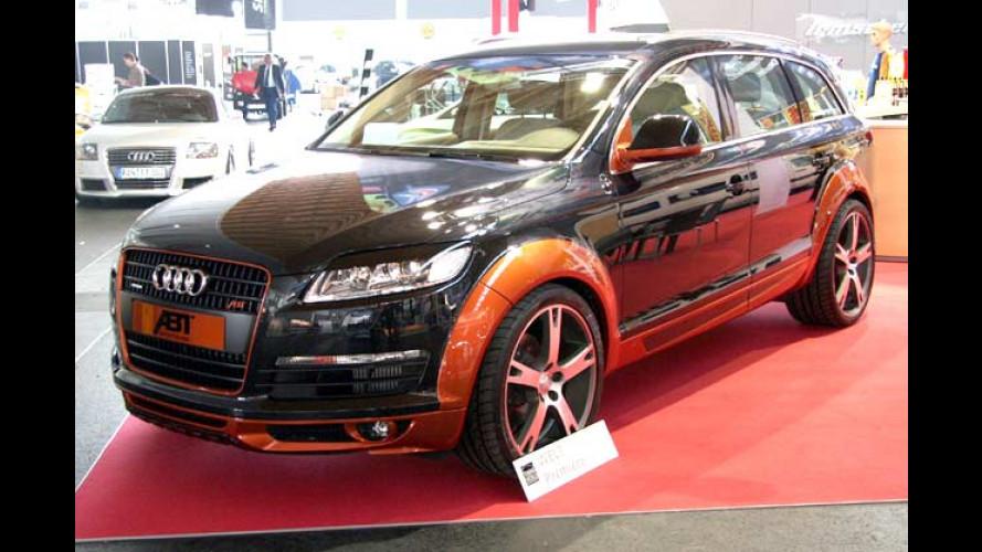 Audi Q7 von Abt: Mächtig bullig und in die Breite gegangen